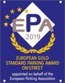 EPA Award für öffentliche Strassenparkplätze