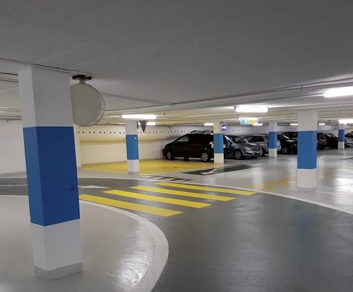 Belagsschäden in Parkhäusern