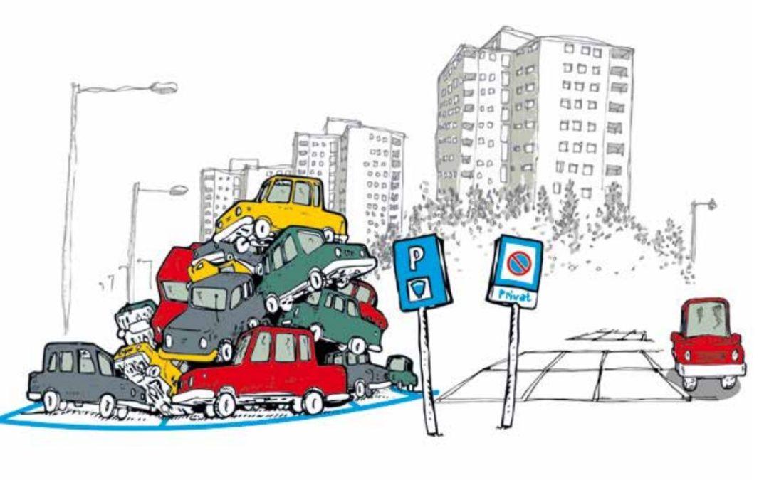 Partage des places de stationnement